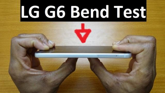 LG G6 test resistenza: il video