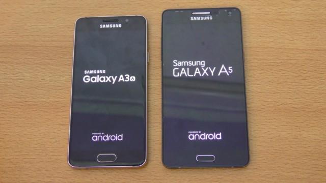Galaxy A3 2016 e Galaxy A5 2016 Nougat