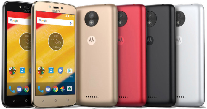 Motorola Moto C e C Plus: specifiche