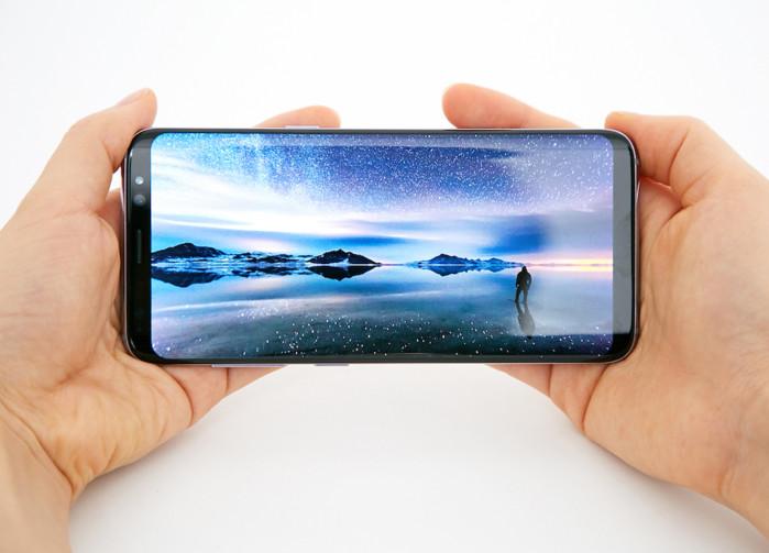 Galaxy S8 ha il display migliore