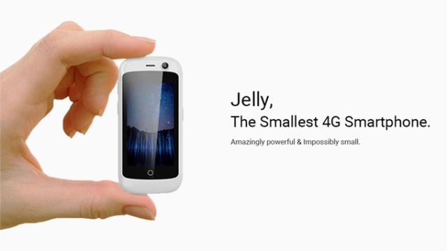Jelly lo smartphone android nougat dual sim 4g pi for Smartphone piccole dimensioni