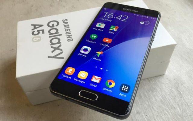 Galaxy A5 2016 aggiornamento Android Nougat
