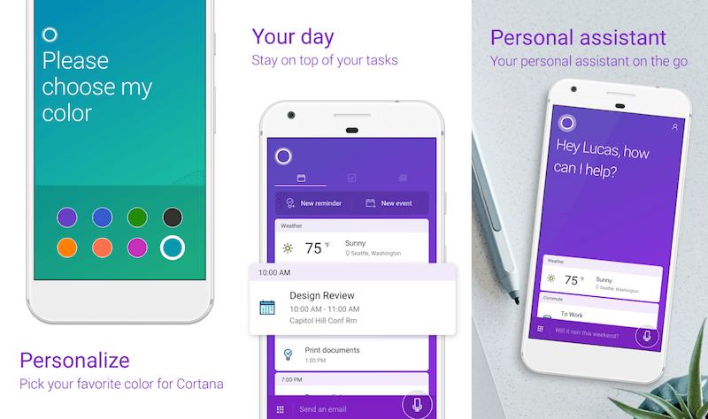 Cortana per Samsung Galaxy