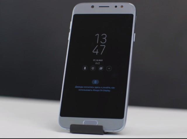 Samsung Galaxy J7 2017: il primo video dal vivo