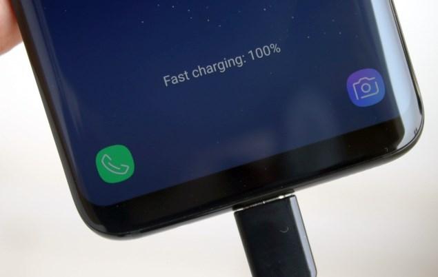 Galaxy S8 carica batteria rapida