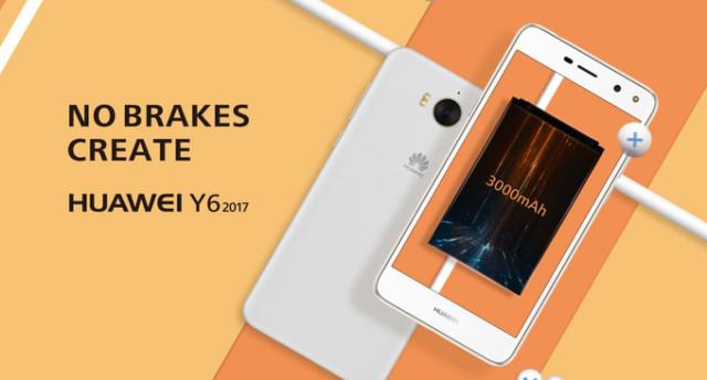 Huawei Y6 2017 ufficiale