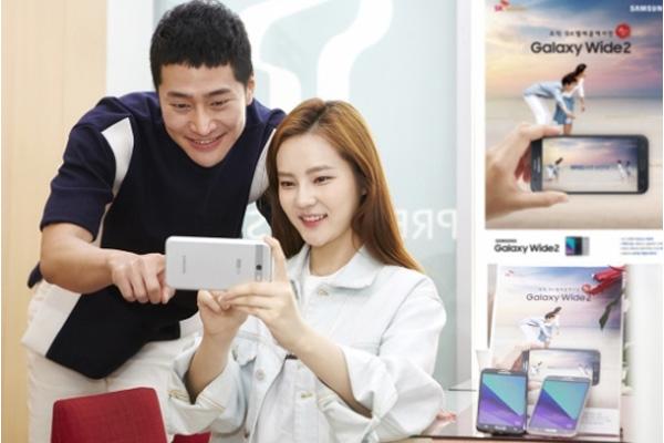Galaxy Wide 2 ufficiale in Corea del Sud