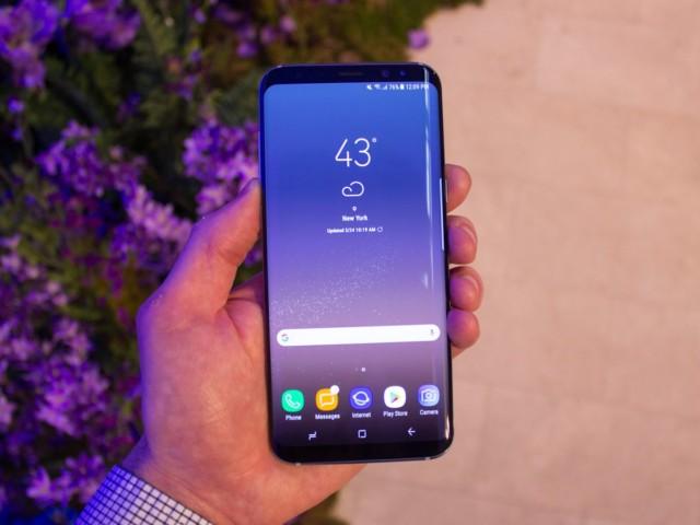 Galaxy S8+ aggiornamento firmware maggio 2017