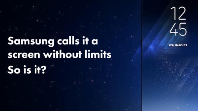Galaxy S8 display fragile: costi riaprazione