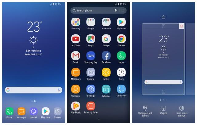 Galaxy S8 Launcher aggiornato