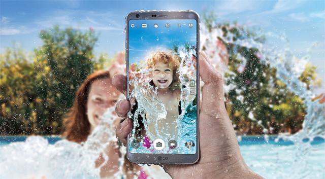 LG G6, smartphone maneggevole con display da 5,7