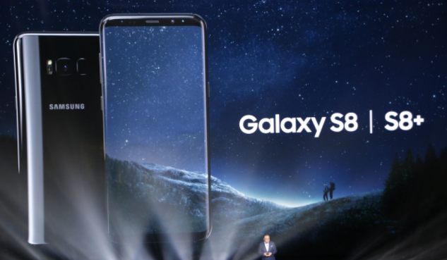 Galaxy S8 test cadute: display fragile