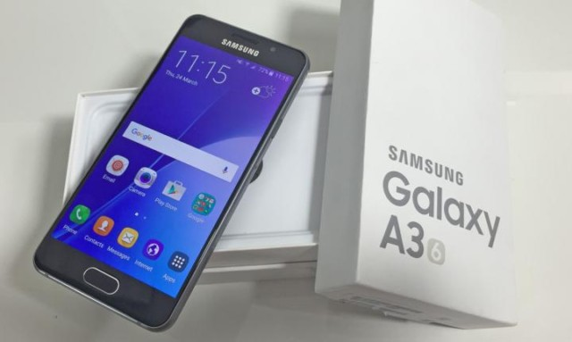 Galaxy A3 2016 Android Nougat