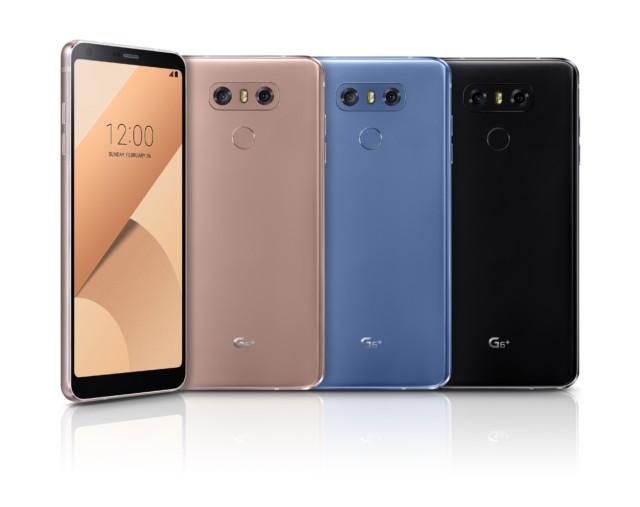LG G6+ ufficiale: ricarica wireless, 128 GB di memoria interna e poco altro