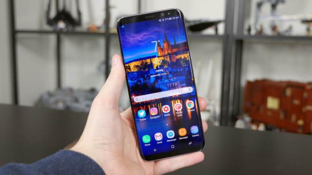 Galaxy S8+ aggiornamento firmware in arrivo