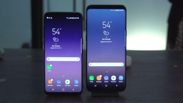 Galaxy S8 e S8+ Samsung Touchwiz Home aggiornato