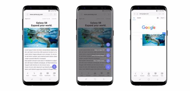 Samsung Internet Browser aggiornamento