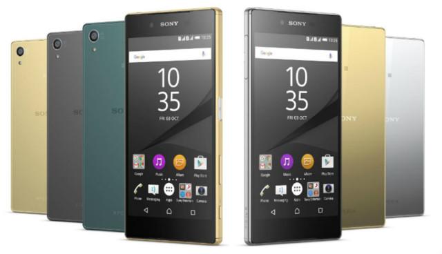 Sony Xperia Z5, Z3+, Z4 tablet Android Nougat 7.1.1