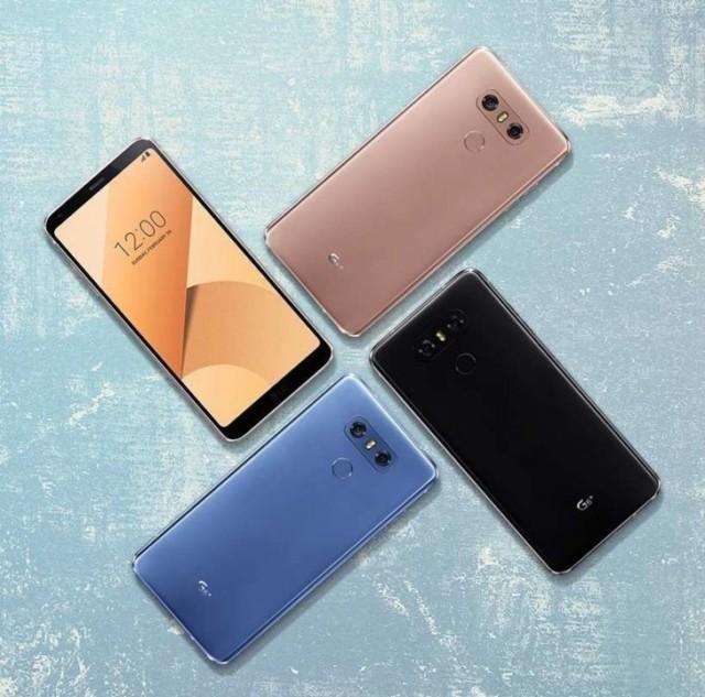 LG G6+ ufficiale, nuovo firmware in arrivo