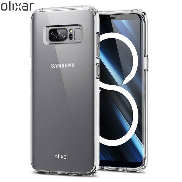 Galaxy Note 8 immagini case protettivo