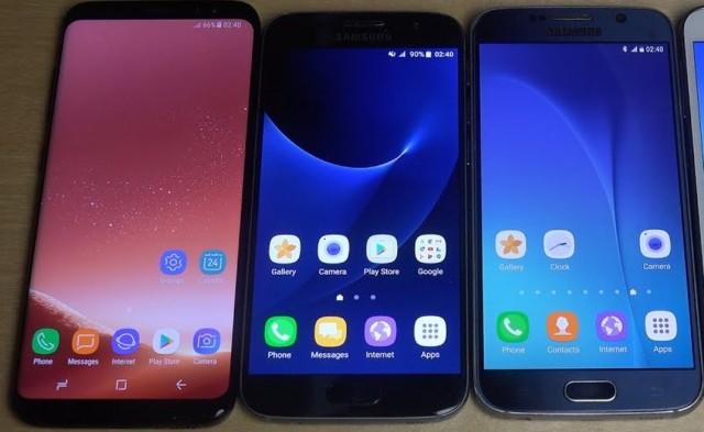 Galaxy S6, S7 e S8 firmware Luglio