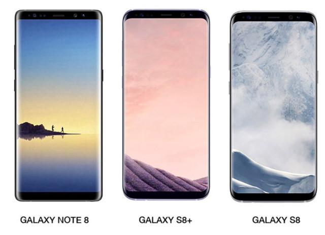 Galaxy Note 8 ha il display migliore del Galaxy S8