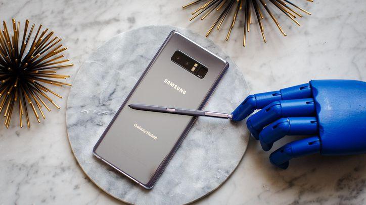 Galaxy S8+ vs Galaxy Note 8 batteria