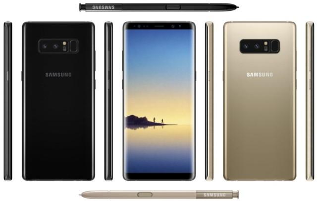 Galaxy Note 8 specifiche hardware