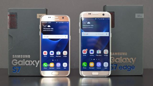 Galaxy S7 e S7 Edge firmware Agosto 2017