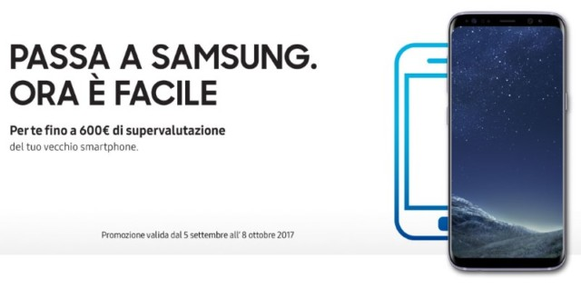 Galaxy S8 supervalutazione smartphone usato