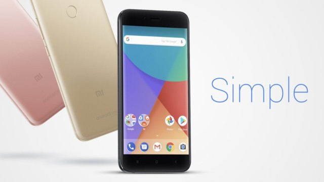 Xiaomi MI A1 progetto Android One
