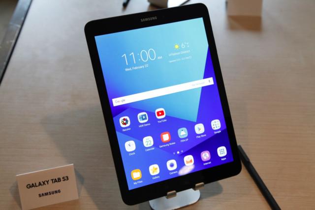 Galaxy Tab S3 aggiornamento firmware