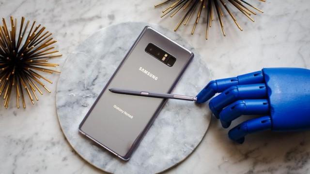 Galaxy Note 8 aggiornamento firmware