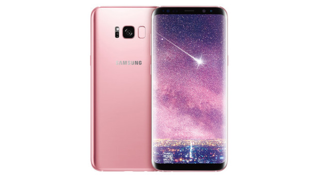 Galaxy S8 Pink (rosa) in Europa