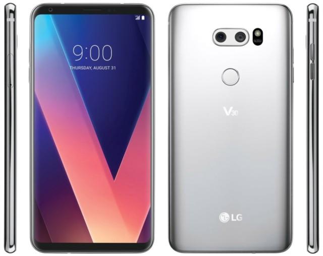 LG V30 ufficiale: caratteristiche hardware