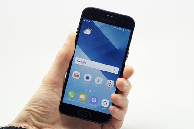 Galaxy A3 2017 aggiornamento Nougat