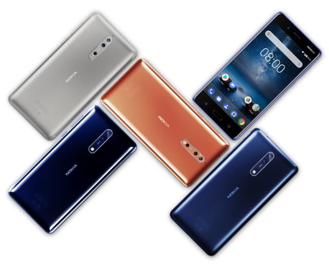 Nokia 3, 5, 6, 8 aggiornamento Android Oreo