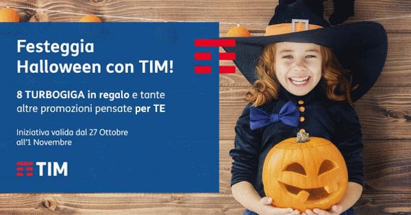 TIM Halloween: regala 8 Giga