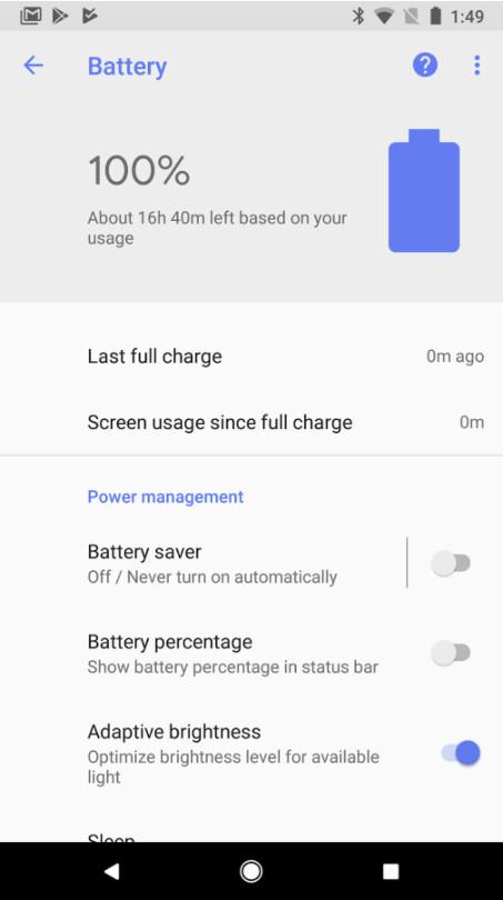 Google Applicazione Batteria sul Play Store