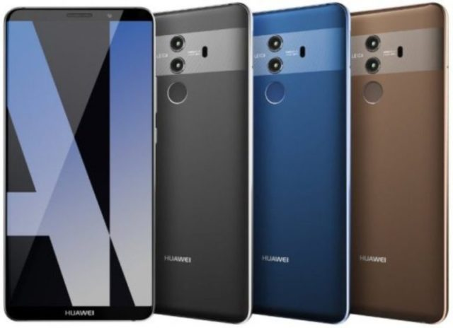 Huawei Mate 10 con Android Oreo 8.0