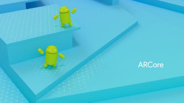 Galaxy S8 e Galaxy Note 8 con Google ARCore
