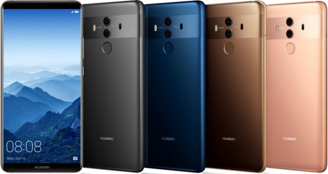 Huawei Mate 10 ufficiale