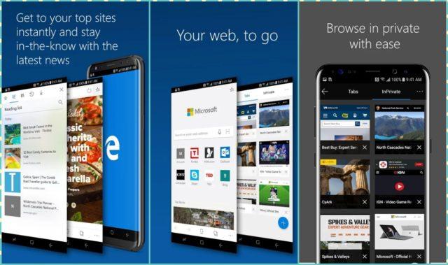Microsoft Edge Preview su Android disponibile al download |  ecco dove