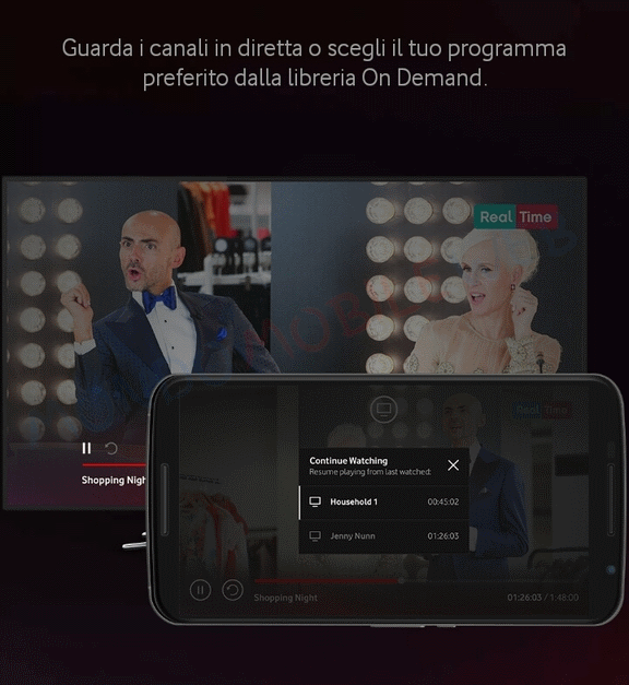Vodafone TV Mobile Free