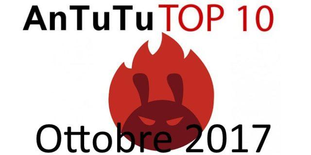 AnTuTu top smartphone ottobre 2017