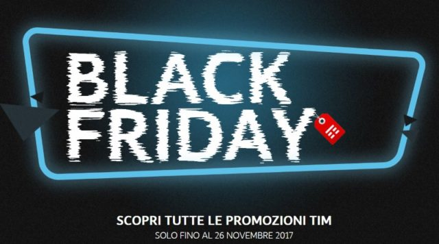 Black Friday TIM le offerte