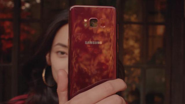 Galaxy S8 nuova variante rossa