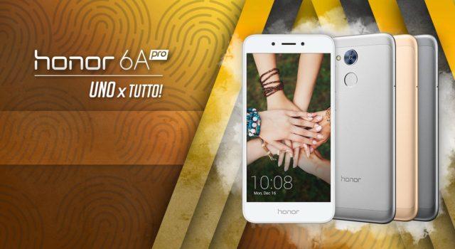 Honor 6A Pro in Italia: prezzo e caratteristiche