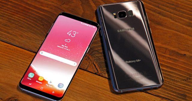 Galaxy S8+ aggiornamento firmware patch ottobre 2017
