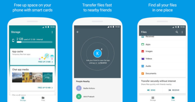 Google Files Go sul Play Store
